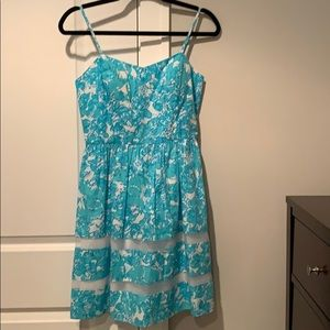 Light blue/White Lilly Pulitzer Dress